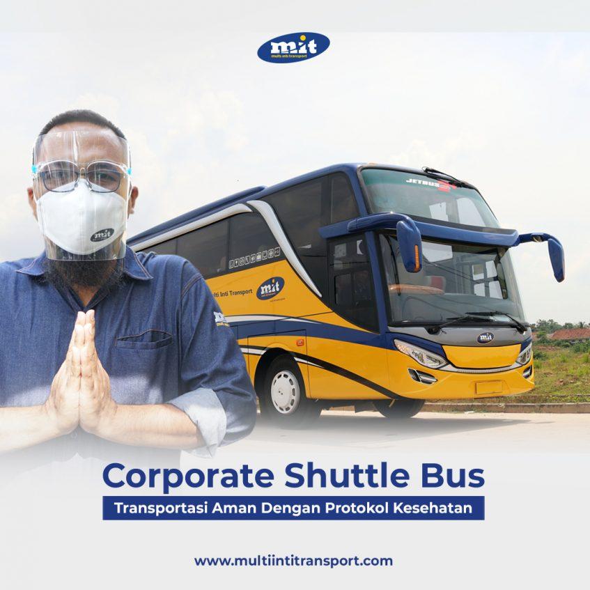Bus Antar Jemput Karyawan di Jakarta